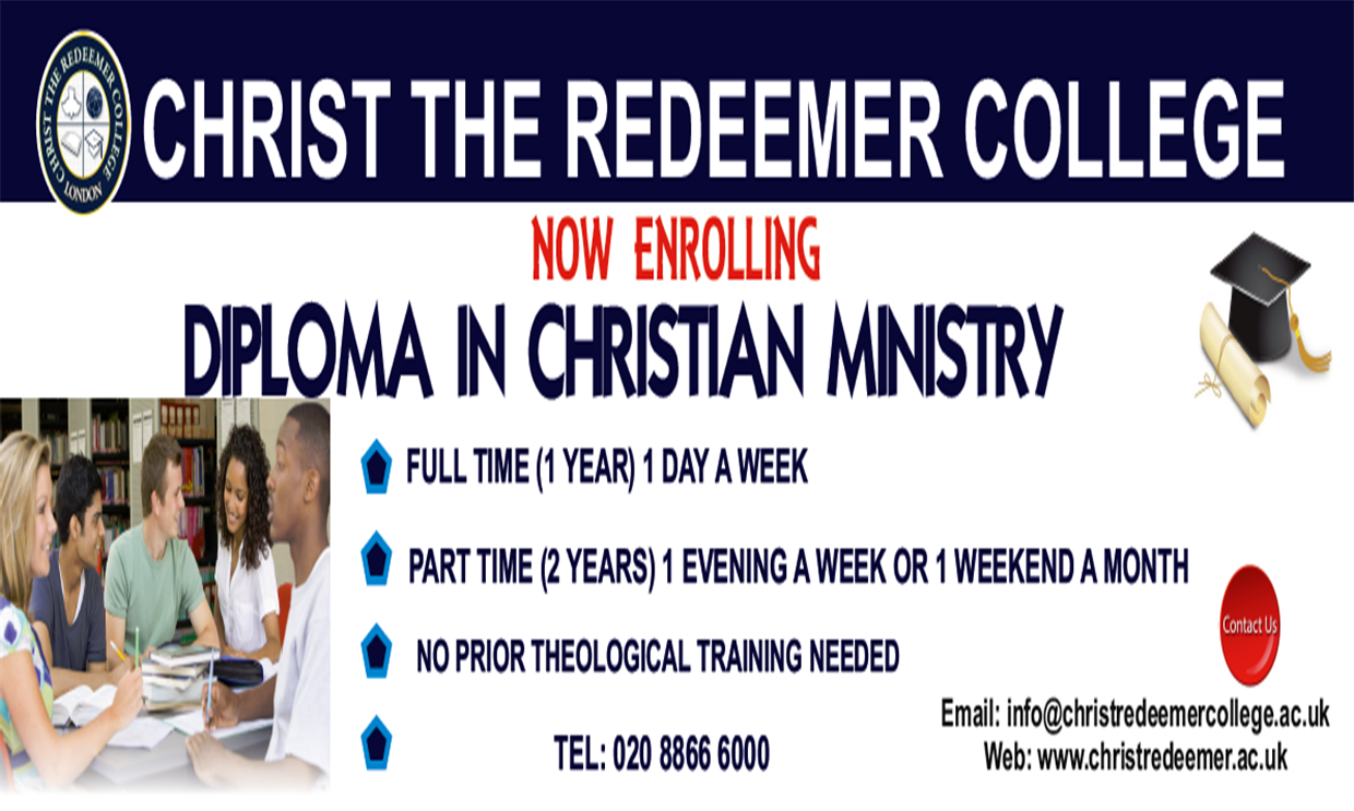 Diploma In Christian Ministry